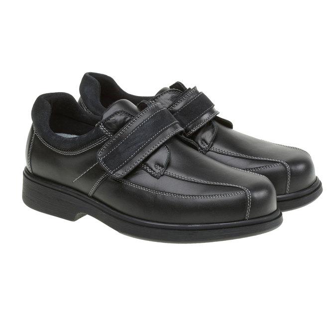 Tenisky na suchý zips bata, čierna, 834-6001 - 26