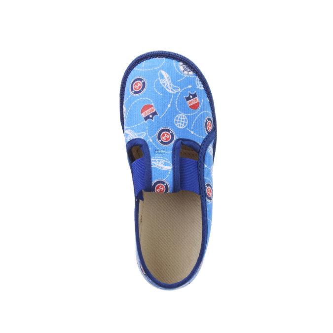 Detské papuče bata, modrá, 179-0105 - 19
