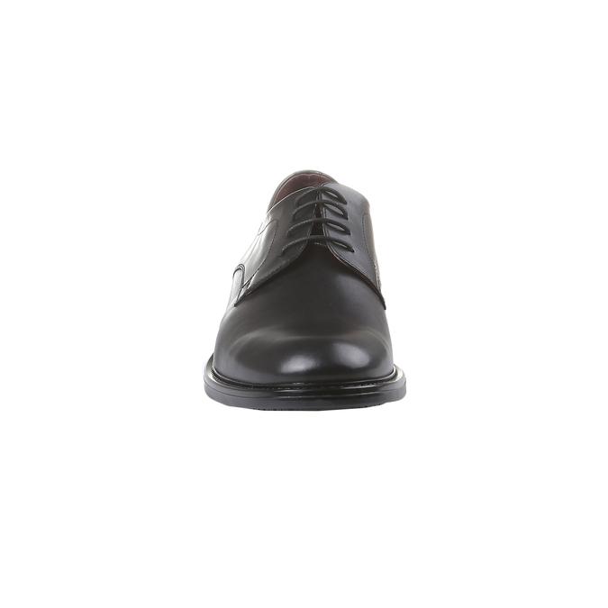 Comfort – kožené poltopánky v Brogue štýle bata-comfit, čierna, 824-6938 - 16