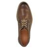 Neformálne kožené poltopánky bata, hnedá, 824-4654 - 19