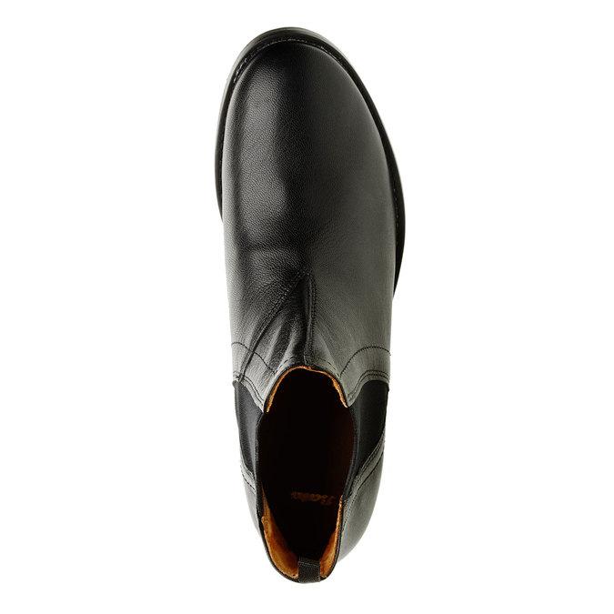 Dámske kožené Chelsea Boots bata, čierna, 594-6267 - 19