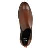Kožené hnedé Chelsea Boots bata, hnedá, 594-4604 - 19