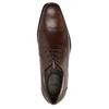 Pánske kožené poltopánky bata, hnedá, 824-4722 - 19