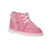 Dievčenská kožená domáca obuv, ružová, 104-5001 - 13