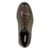Kožené poltopánky s výraznou podrážkou bata, hnedá, 826-4641 - 19