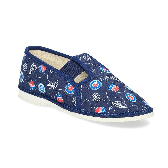 Detské papuče bata, modrá, 379-9012 - 13