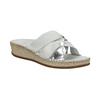Dámske kožené sandále comfit, biela, 574-1248 - 13