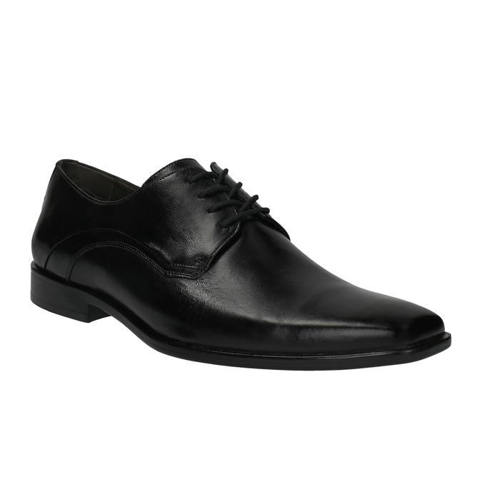 Pánske kožené poltopánky bata, čierna, 824-6720 - 13