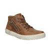 Pánske členkové tenisky bata, hnedá, 826-3650 - 13