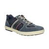 Pánske kožené tenisky bata, modrá, 826-9649 - 13