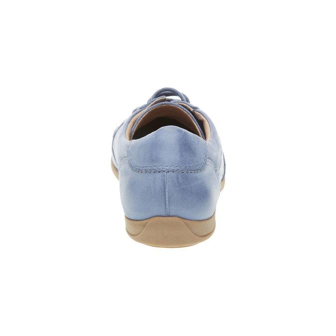 Ležérne kožené tenisky bata, modrá, 524-9511 - 17