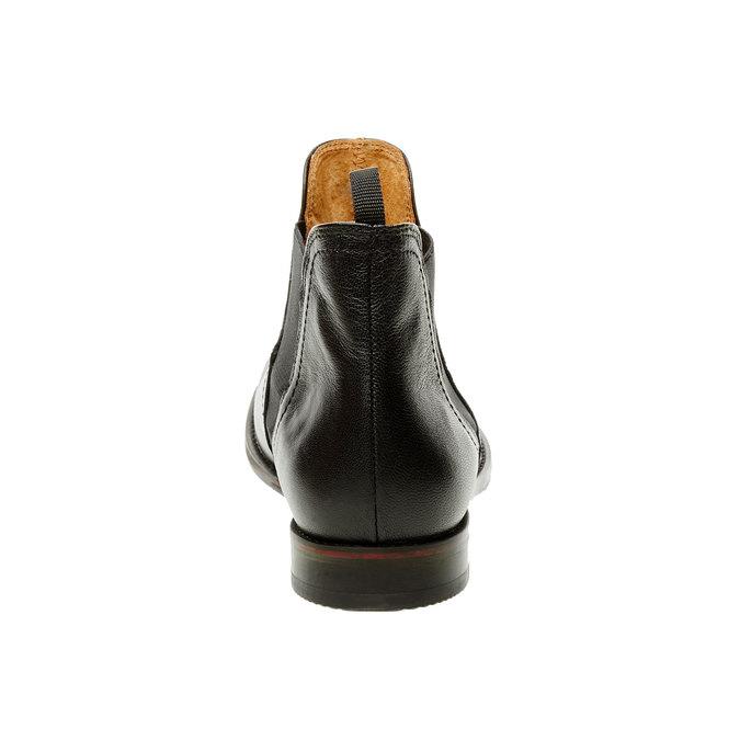 Dámske kožené Chelsea Boots bata, čierna, 594-6267 - 17