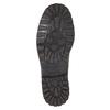 Kožené ležérne poltopánky bata, hnedá, 826-4640 - 17