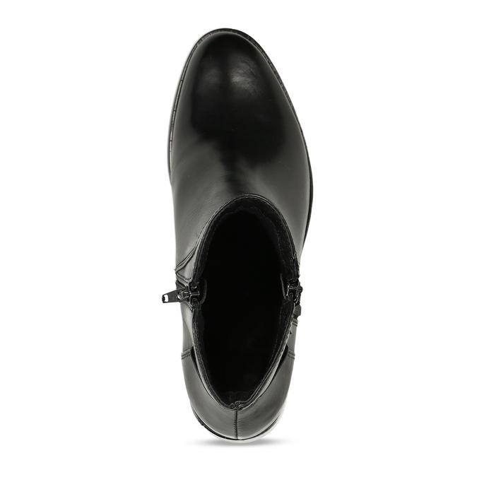 Dámska členková obuv bata, čierna, 694-6600 - 17