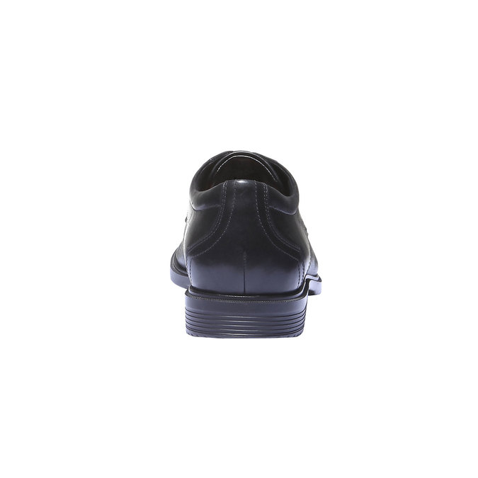 Kožené pánske poltopánky rockport, čierna, 824-6489 - 17