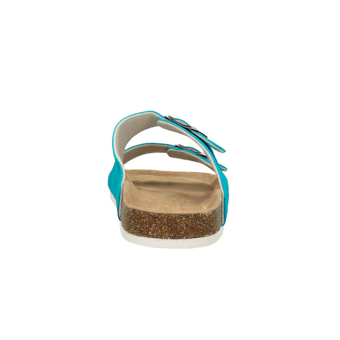 Dámske kožené papuče de-fonseca, 573-9620 - 17