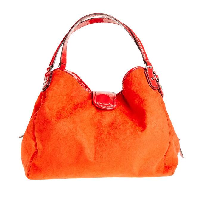 Červená dámska kabelka bata, červená, 969-5280 - 26