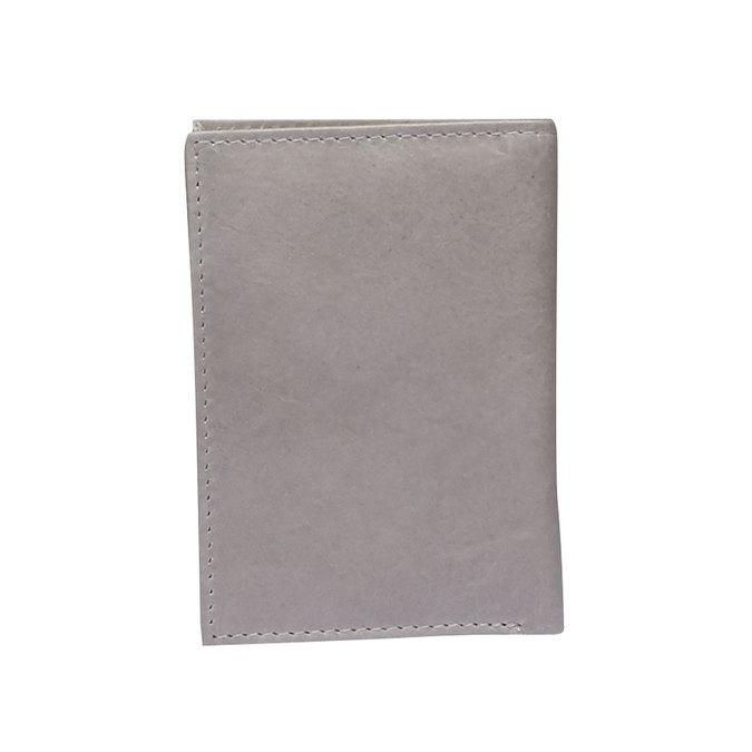 Kožené púzdro na karty bata, šedá, 944-2158 - 26