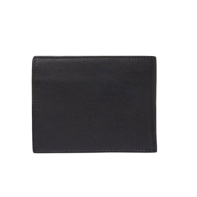Pánská kožená peňaženka bata, čierna, 944-6124 - 26