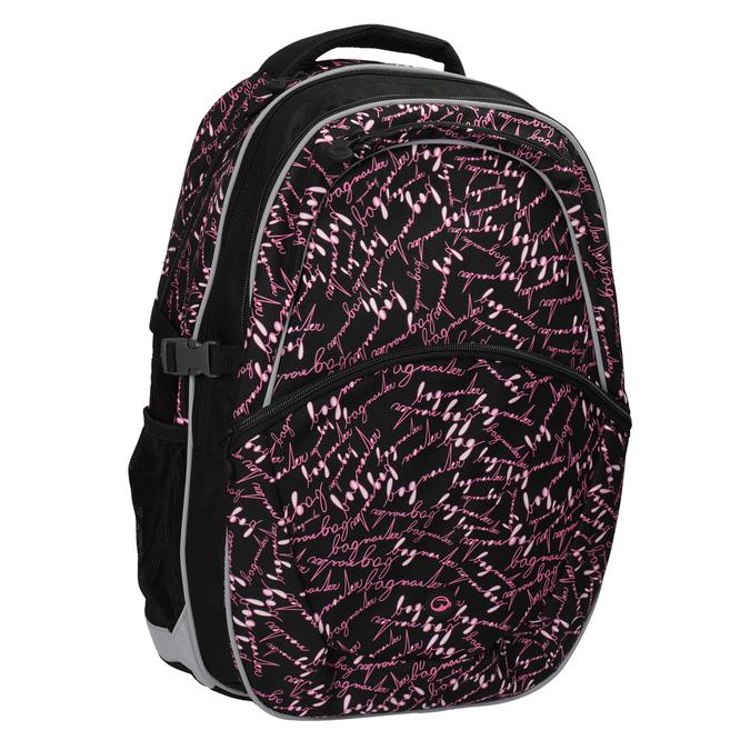 Školský batoh s potlačou bagmaster, čierna, 969-6602 - 13