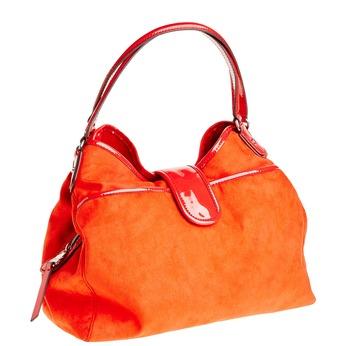 Červená dámska kabelka bata, červená, 969-5280 - 13
