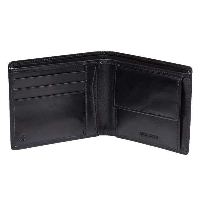 Kožená pánska bata, čierna, 944-6122 - 15