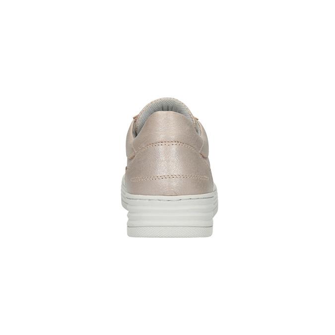 Dámske kožené tenisky bata, ružová, 526-5612 - 17