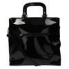 Čierna dámska kabelka do ruky bata, čierna, 961-6606 - 26
