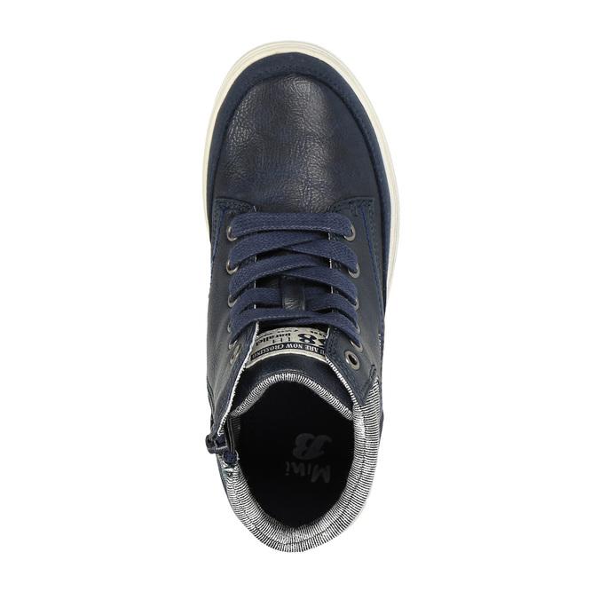 Chlapčenské členkové tenisky mini-b, modrá, 391-9600 - 19