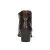 Dámska členková obuv šírky H bata, hnedá, 696-4616 - 17
