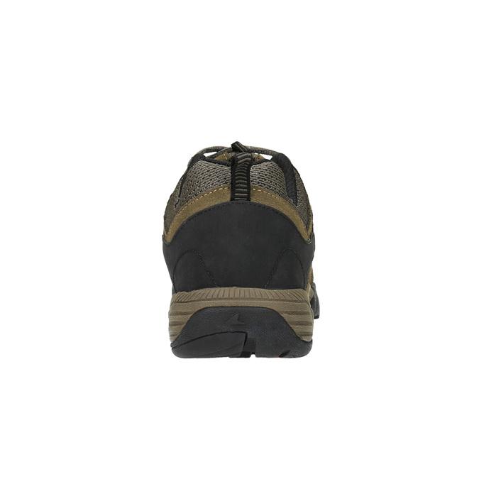 Kožená obuv v Outdoor štýle power, hnedá, 803-3109 - 17