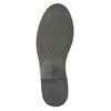 Dámska kožená členková obuv bata, čierna, 594-6611 - 19