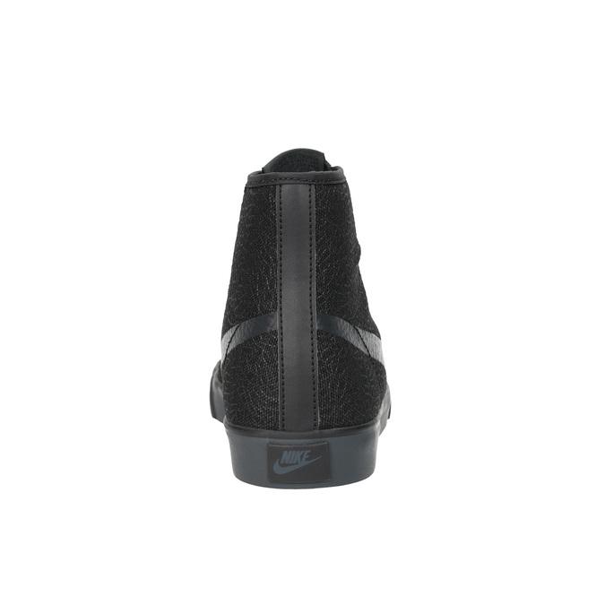 Čierne členkové tenisky nike, čierna, 501-6342 - 17