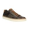 Pánske kožené tenisky bata, hnedá, 846-4605 - 13