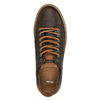 Pánske kožené tenisky bata, hnedá, 846-4605 - 19