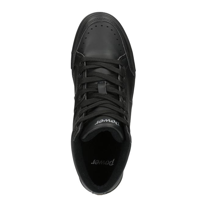 Čierne členkové tenisky power, čierna, 501-6400 - 19