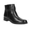 Dámska členková obuv bata, čierna, 594-6614 - 13