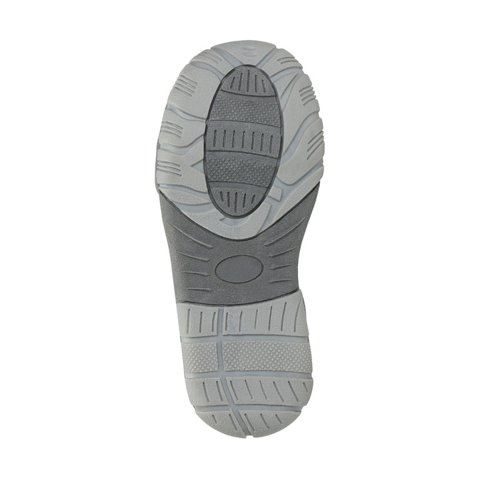 Detská členková obuv na suchý zips mini-b, hnedá, 211-2605 - 26