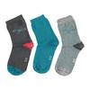 Detské farebné ponožky 3 páry bata, 919-0593 - 26