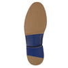 Ležérne kožené poltopánky bata, modrá, 826-9644 - 26
