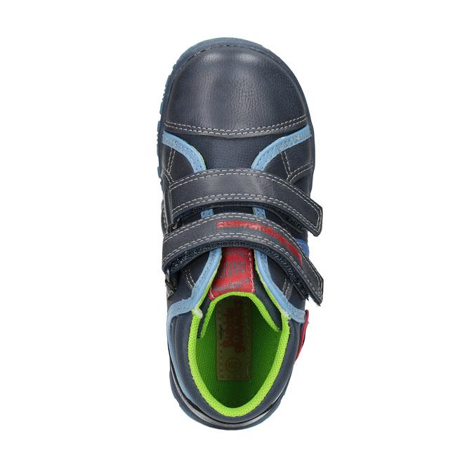 Detská členková obuv mini-b, modrá, 211-9605 - 19