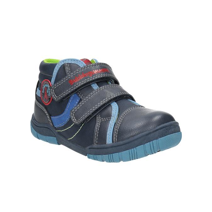 Detská členková obuv mini-b, modrá, 211-9605 - 13