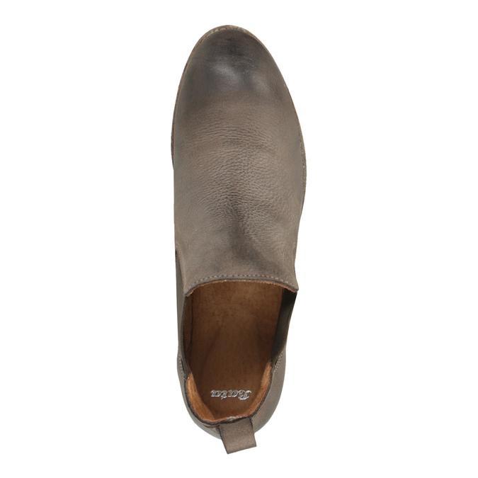 Kožené Chelsea Boots bata, hnedá, 596-4641 - 19