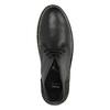 Kožené Chukka Boots bata, čierna, 824-6665 - 19