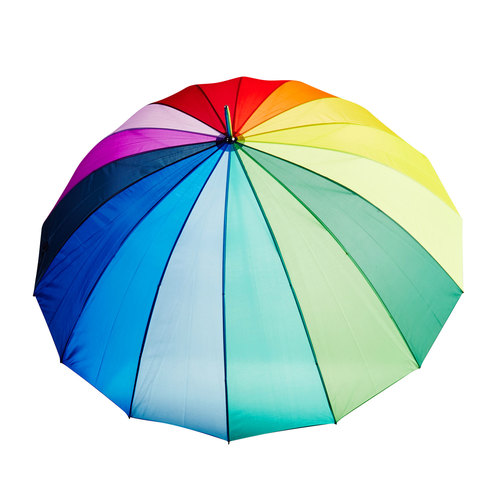 Farebný dáždnik doppler, 909-0186 - 26