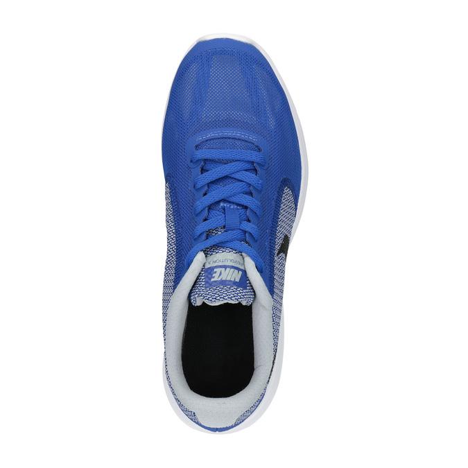 Detské športové tenisky modré nike, modrá, 409-9322 - 19