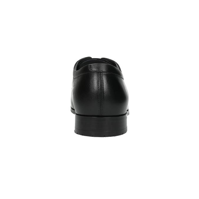 Pánske kožené poltopánky climatec, čierna, 824-6752 - 17