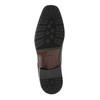 Pánske kožené poltopánky climatec, čierna, 824-6752 - 26