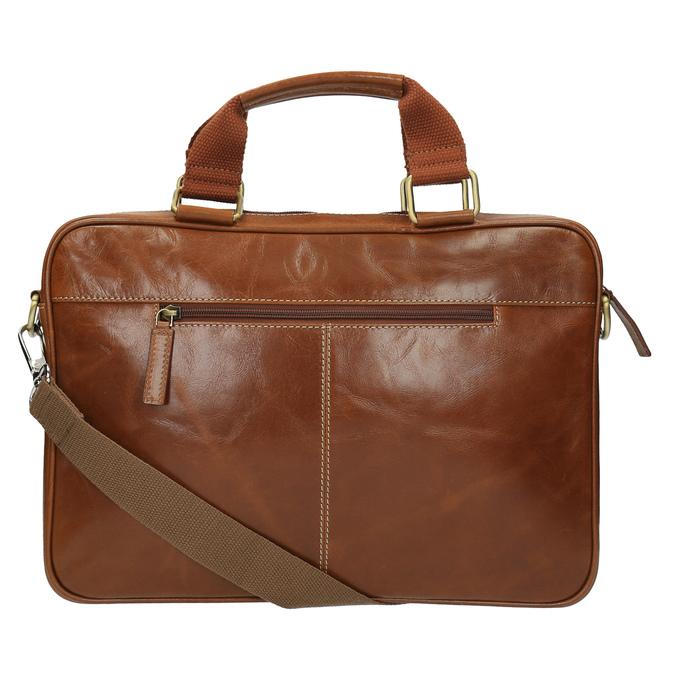 Pánska kožená brašna hnedá bata, hnedá, 964-3204 - 26