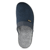 Pánska domáca obuv bata, modrá, 879-9600 - 17